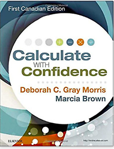 Calculate with confidence textbook brand new!