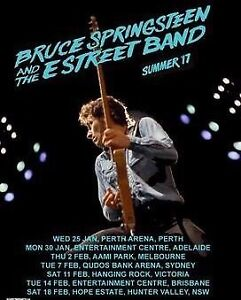 BRUCE SPRINGSTEEN BRISBANE TICKET Murrumba Downs Pine Rivers Area Preview