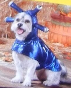 """BRAND NEW WITH TAGS: Dog Halloween """"Space Alien"""" Costume XS"""