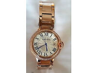 Gold plated cartier watch in a very good condition