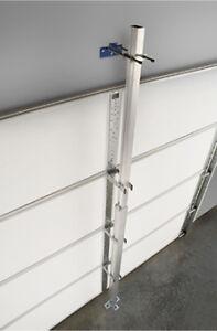Garage Door Brace Protection From Flying Debris Hurricane