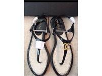 Chanel sandals size 35