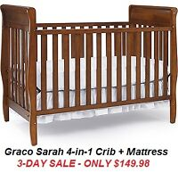 OVER-STOCK CRIB CLEARANCE - SAVE 50%