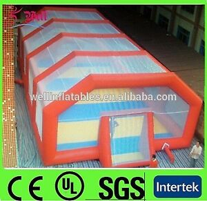 commercial inflatable soccer field