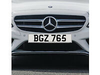 BGZ 765 – Price Includes DVLA Fees – Cherished Personal Private Registration Number Plate
