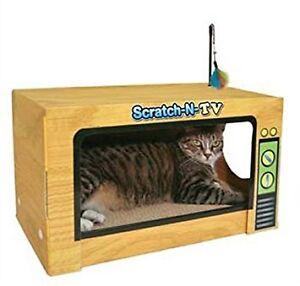 TV GRATTAGE POUR CHAT - SCRATCH-N-TV - 10 $
