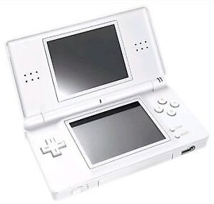 nintendo DS lite white and game and charger or best offer   xxxx