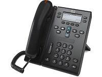 NEW in box - CISCO CP-6945-C-K9 Unified UC IP Phone BALCK DESK PHONE