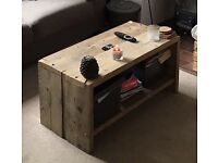 Coffee table (from scafoulding)