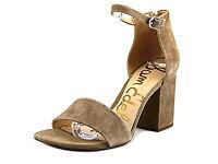 Sam Edelman Torrence Open Toe Suede Sandals - women's 36.5 EU, very good condition