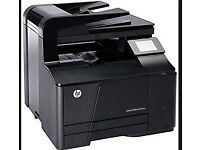 HP LaserJet-Pro200 colour Printer (used) + 4 NEW Toners