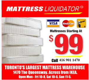 Queensway Mattress Warehouse Toronto's #1 Mattress Outlet