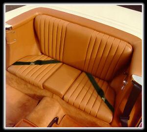 MERCEDES W107 SL REAR JUMP SEAT- MB TEX - 560SL,380SL,450SL,280SL,350SL,500SL,