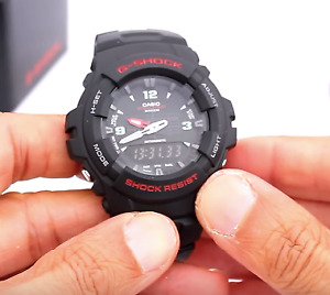 WATERPROOF SHOCK RESIST WATCH G-Shock G100-1BV