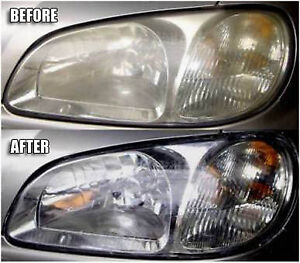 Headlight Restoration and Vehicle Detailing - Only $40.00