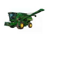 Schnell Unload Conveyor for JD 9650/9750STS combine