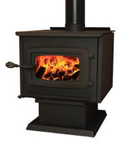 Wood Burning Stoves by KOZI - 2 Models & 2 Colors to Choose From