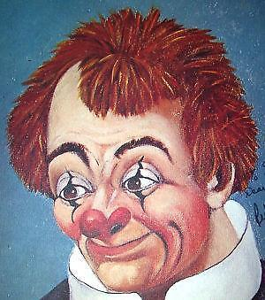 Red Skelton Signed Paintings