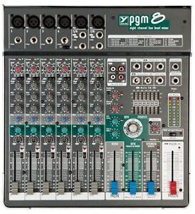 Looking to Trade my Yorkville Sound PGM8 For you A&H Zed10