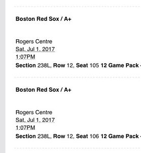 Blue Jays July 1