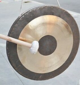 Gongs and hand cymbals for concerts/ceremonies - various sizes