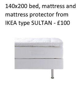 Bed & Mattress SULTAN