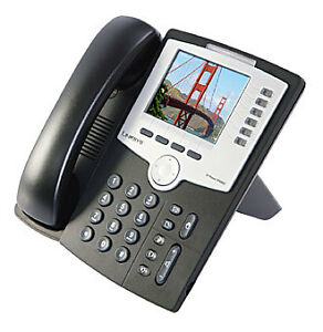 VOIP OFFICE PHONE SPA962 6-line IP Phone with 2-port Switch