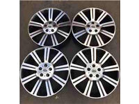 "20"" Range Rover Land Rover alloys- full set of 4 quick sale"