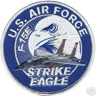 USAF  AIR FORCE  F-15E STRIKE EAGLE  4