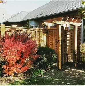 NOT TO LATE FOR YOUR DREAM FENCE, DECK OR PERGOLA. Cambridge Kitchener Area image 8