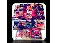 LEADING MAN VHS BUNDLE - 22 FILMS - FOR SALE