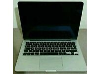 Apple Macbook pro 15 Early 2011 8gb ram 500gb hdd *** working but dedicated GPU fault***
