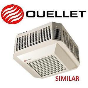 """NEW OUELLET CEILING HEATER 5000W odsa05000bl 141966648 240V WHITE AIR DIFFUSER 310 CFM 16.36""""x16.36""""x8.75"""""""