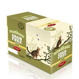 15 Boxes of James Wellbeloved Grain Free Cat Food