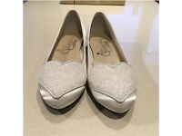 French Sole 'Love Heart' wedding / bridal shoes