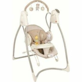 Bounce and swing chair
