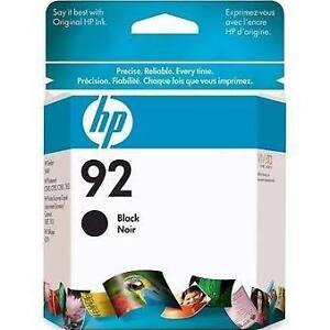 NEW unopened Genuine HP 92 Black Ink Cartridge