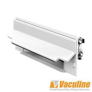 Central Vacuum White CanSweep Inlet
