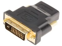 Quality brand-new DVI cable for PCs, monitors & all other dvi devices at only £10.