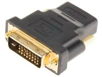 Quality brand-new long DVI cable for PCs, monitors & all other dvi devices at only £15.