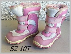 Pink Winter Boots Sz 10