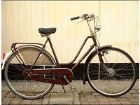 "Ladies Dutch 3 speed vintage bike 20"" frame"