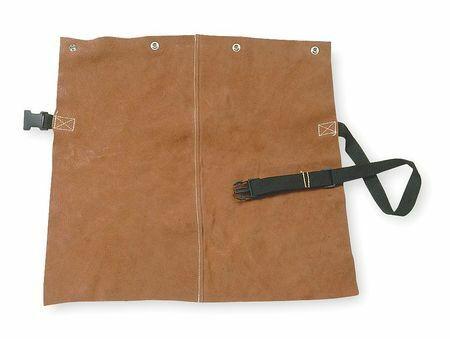 Condor 5Ac71 Detachable Welding Bib, Leather