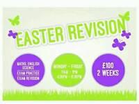 Exam revision/GCSE's/A levels/11plus/SATS practice/Tuition/tutors