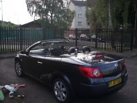 Renault Megane Dynamique 1.6 Convertible Low MILAGES swap for audi bmw cash may way