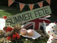 COME AND JOIN US AT OUR SUMMER FETE IN SOUTH WOODHAM FERRERS 13th AUGUST