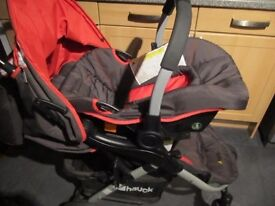 Apollo 4 stroller/pushchair travel system
