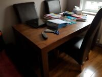 dining table for sale 150cmx90cm