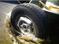 Ford Transit Steel Wheel & Tyre 225-65R-16C