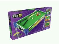 BRAND NEW Click and Play 32 Inch Kids 2-in-1 Pool Table.